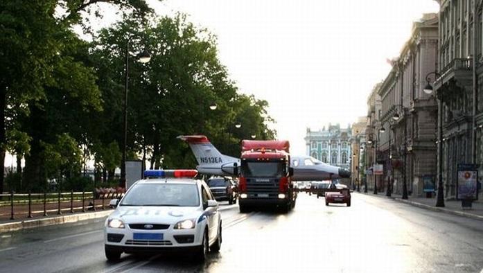 Некоторые особенности перевозки бизнес-джетов автомобильным транспортом